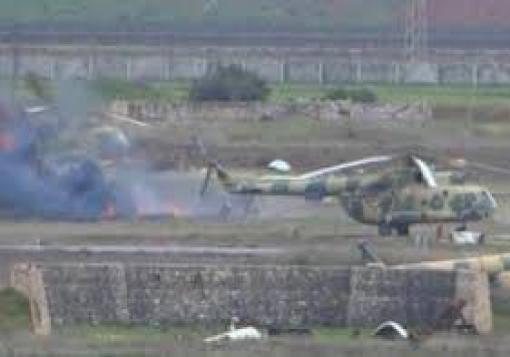 صورة تسريبات من داخل مطار منغ : النظام اعدم 14 جنديا ارادوا الانشقاق