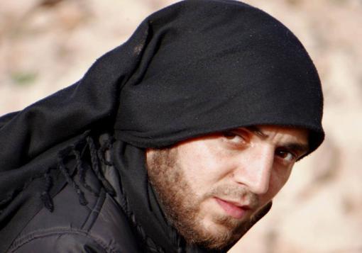 """صورة استشهاد مراسل شبكة حلب نيوز"""" اياد الحلبي """""""