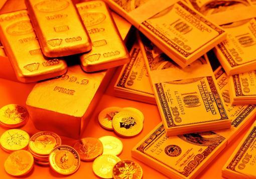 صورة غرام الذهب يصل الى 10000 والدولار الى 300