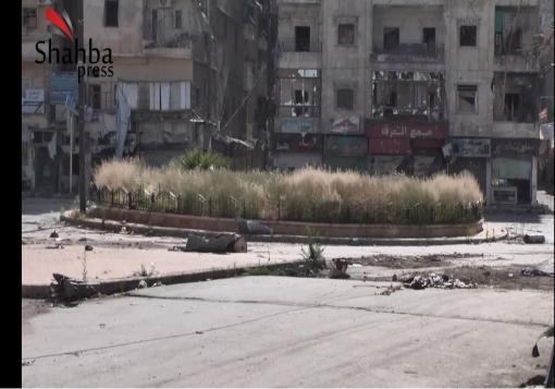 صورة شهبا_برس || حلب – حي صلاح الدين || تقرير لشهبا برس عن حي صلاح الدين في مدينة حلب.
