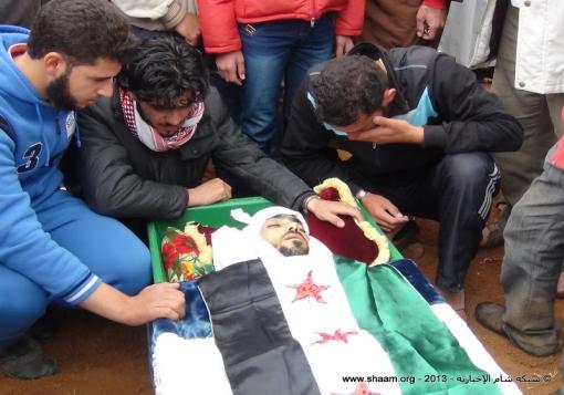 صورة حصيلة شهداء حلب وريفها ليوم الجمعة 12\7\2013