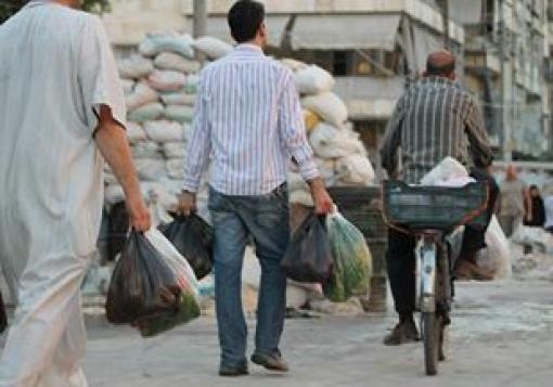 صورة معبر كراج الحجز بين مطرقة المحتل وسندان المحرر
