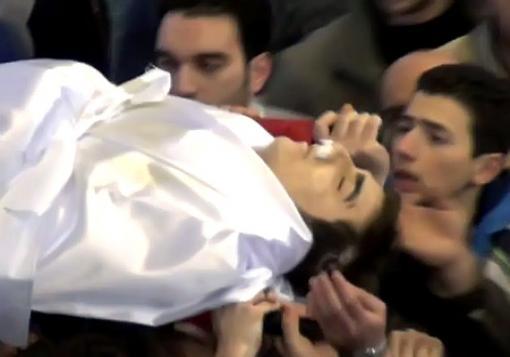 صورة حصيلة شهداء حلب و ريفها ليوم الإثنين 12-8-2013 ستة عشرة شهيدا بينهم 5 اطفال و 3 سيدات