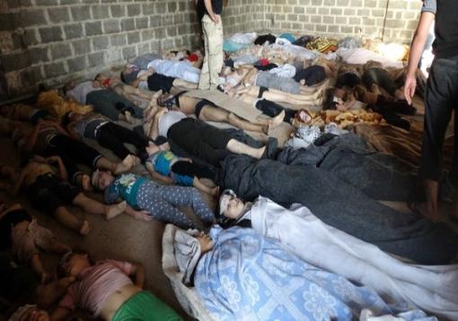 صورة مسؤول فرنسي : الأقمار الصناعية تثبت تورط الأسد بالكيماوي