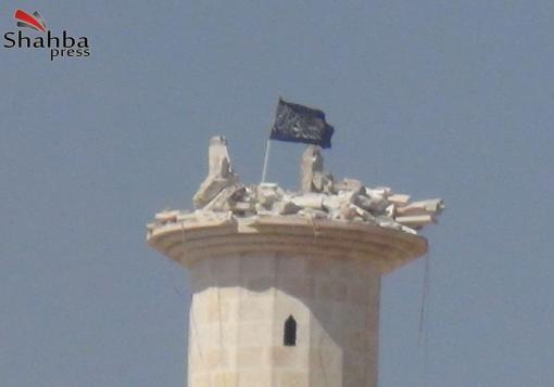 صورة قرية عين دقنة ….. تنفض غبار الحرب بنصر الثوار