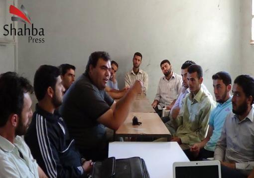 صورة ائتلاف شباب الثورة في الداخل يطلق حملة تعزيز مجالات المقاومة اللا عنفية