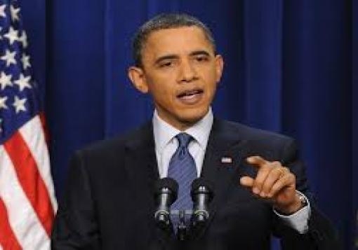 صورة أوباما يحذر الأسد من التلاعب بالمقترح الروسي