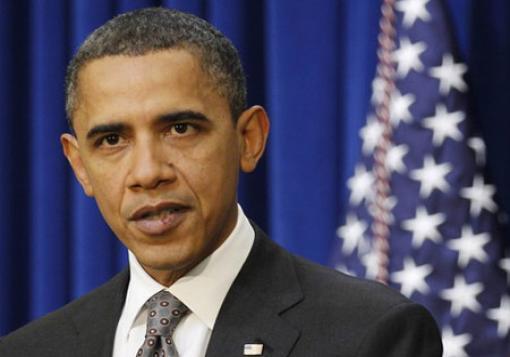 صورة اوباما : يهدد مجددا بضربة امريكية محدودة الزمان والمكان لنظام الاسد