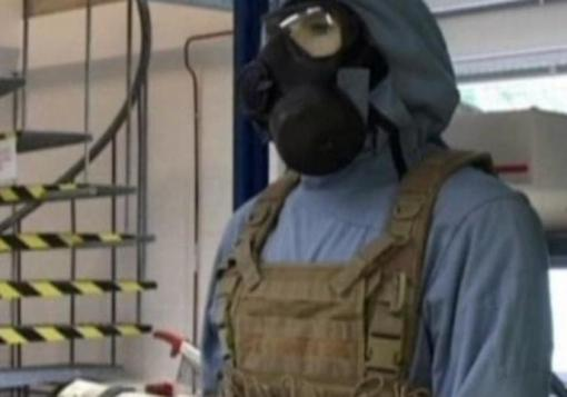 صورة منظمة حظر الأسلحة الكيماوية تتلقى تفاصيل عن أسلحة دمشق