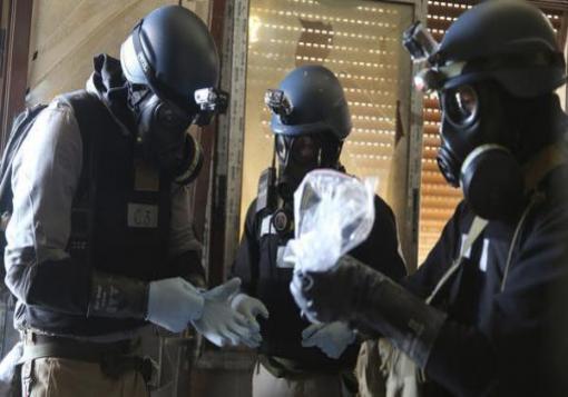 صورة مليار دولار وعشر سنوات لتدمير كيمياوي النظام السوري