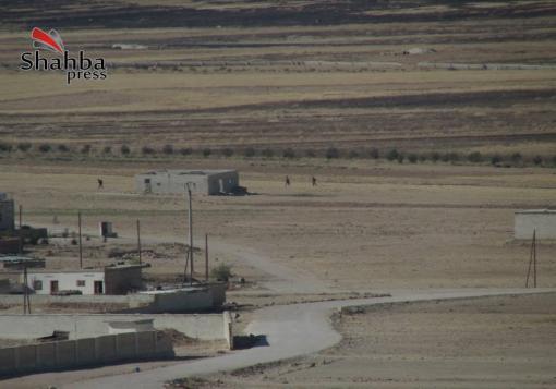 صورة الجيش الحر يصد محاولة لقوات النظام لاقتحام قرية عكيرش