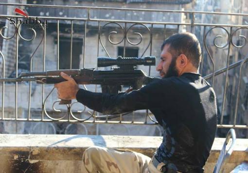 صورة عدسة شهبا برس||حلب – حي صلاح الدين – صور من معركة (الواقعة) .