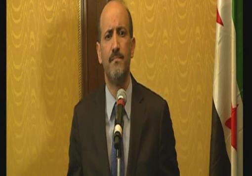 صورة بان كي مون يعقد أول اجتماع مع رئيس الائتلاف الوطني السوري أحمد الجربا