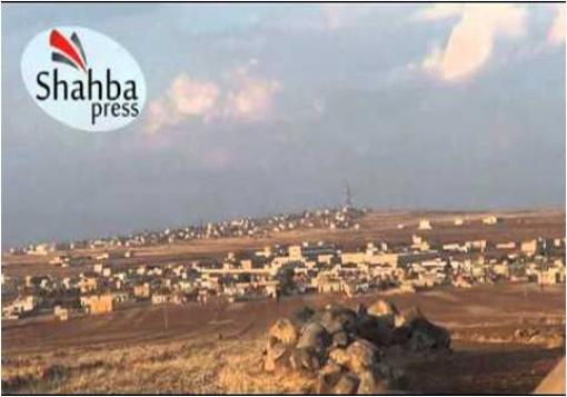 صورة جيش الأسد يتبع سياية الأرض المحروقة  في السفيرة بتوجيهات من حزب الله والثوري الايراني