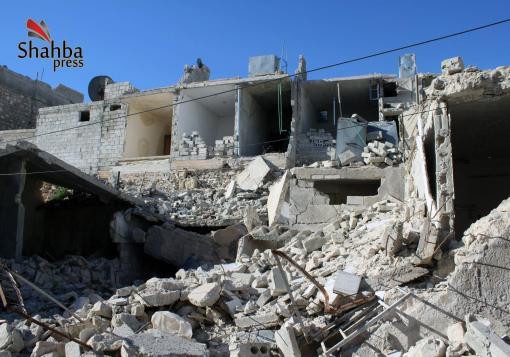صورة عدسة شهبا برس في حيي الاشرفية وبني زيد وقصص الدمار التي لا تنتهي