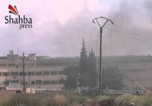 صورة مع تكبيرات العيد عملية استشهادية في سجن حلب المركزي