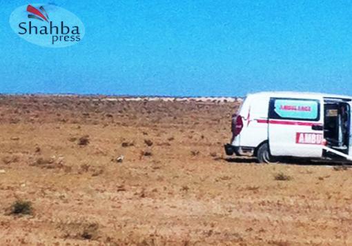 صورة شهبا برس .. رحلة الى خناصر عبر طريق الموت !