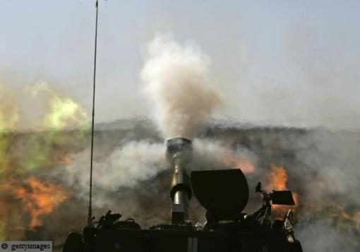 صورة شهبا برس تكشف عن أماكن تمركز المدافع الثقيلة في ريف حماة