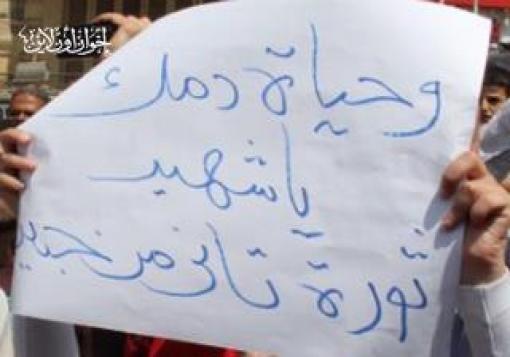 صورة يقولون إذا صم قادة الثورة السمع عما يجري هل الخيار النزول للشارع للتظاهر من جديد