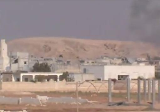 صورة لواء التوحيد يزف 9 من مقاتليه في السفيرة , و مقتل 30 عنصر من قوات النظام في تل عرن