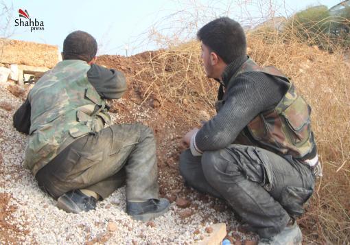 صورة اللواء 80 في حلب يتحول إلى مقبرة لدبابات النظام  !