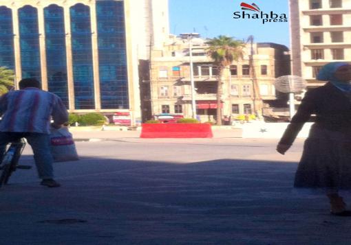صورة ساحة سعد الله الجابري …من مُتنفّس لأهالي حلب إلى ثكنة عسكرية ترعبهم !