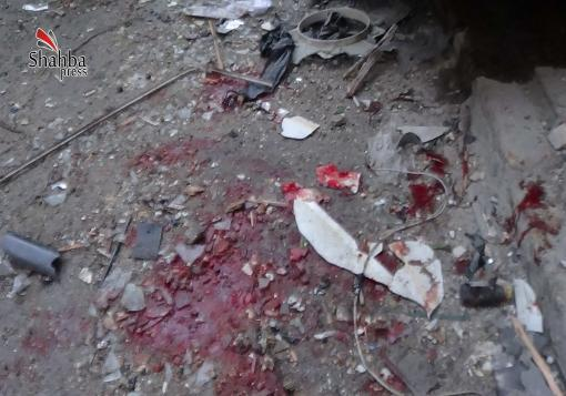 صورة بعد فشله في دخولها  من الشرق , نظام الاسد يحاول النزول إلى حلب  بالبراميل المتفجرة !