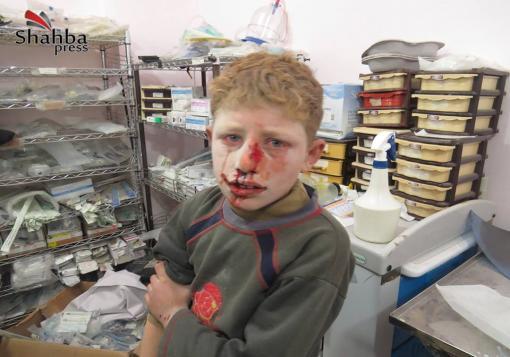 صورة توقف المدارس و ندءات استغاثة من المشافي و قرابة 100 شهيد في حلب وريفها