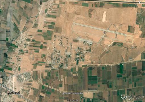 صورة نظام الأسد يخلي مطار كويرس الى مطار النيرب و تنظيم الدولة ينتشر في محيطه دون معارك