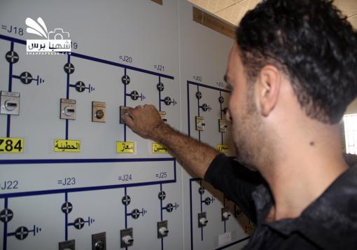 صورة مدينة عفرين بريف حلب … انقطاع مستمر للكهرباء وتكلفة عالية للبدائل