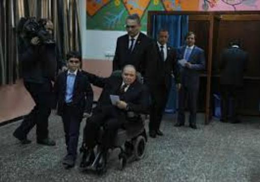 صورة كهل الجزائر الخًرف يفوز ومعتوه سورية يتحضر للترشيح !!