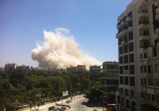 صورة الثوار يعلنون معركة جديدة بحلب القديمة وينسفون عدة مباني لقوات الأسد