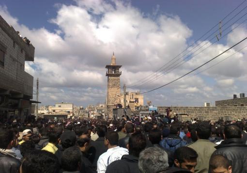 """صورة """"شهداء الخندق"""" معركة جديدة في درعا البلد"""