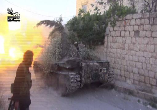 صورة جبهات حلب تشتعل و الثوار يكبدون النظام خسائر في الارواح و العتاد