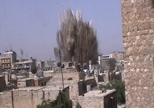 صورة النظام يحمي نفسه من أنفاق الثوار بالأنفاق , في خطة أمنية واسعة في حلب