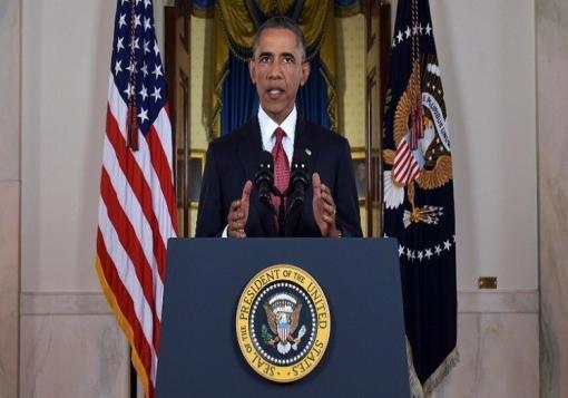 صورة أوباما: هدفنا واضح سوف نحجّم ثم ندحر تنظيم الدولة