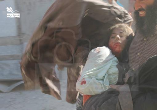 صورة 51 شهيداً في الباب، ونظام الأسد يكثف من قصفه لحلب وريفها مؤخراً.