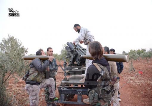 صورة معارك عنيفة في منطقة الملاح بحلب لصد تقدم قوات الأسد