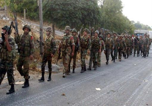 صورة نقص كبير في أعداد قوات الأسد خلال الثورة