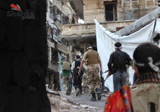 صورة ثوار حلب يقلبون طاولة موسكو بتقدمهم، وقوات الأسد تتقهقر على جبهات حلب