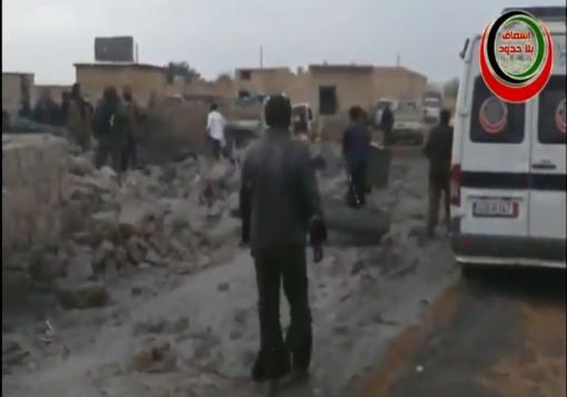 صورة مدينة الباب بريف حلب الهدف الأبرز لإجرام الأسد