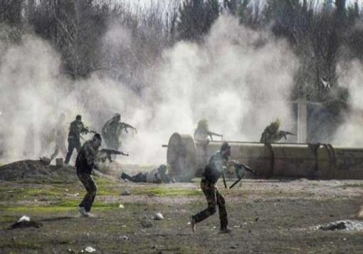 صورة ثوار إدلب يعلنون عن معركة تحرير جبل الأربعين