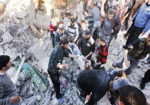 صورة شهداء وجرحى في ريف إدلب