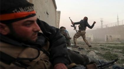 صورة معارك مستمرة في ريف دمشق والثوار يأسرون 30 جنديا للأسد