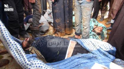صورة قوات الأسد ترتكب مجزرة في رتيان، والمعارك مستمرة