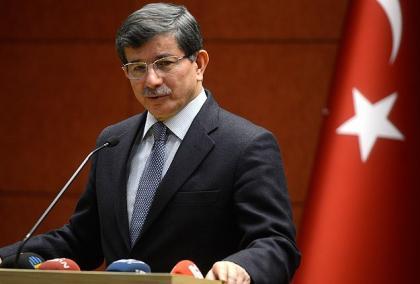 صورة رئيس الوزراء التركي يؤكد وقوف بلاده مع حرية الشعب السوري
