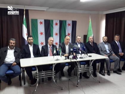 صورة قوى الثورة بحلب ترفض مبادرة ديمستورة