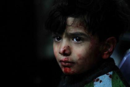 صورة اشتباكات في جوبر ومجزرة ترتكبها قوات الأسد في الغوطة