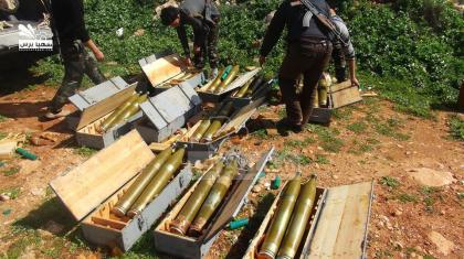 صورة معارك مستمرة بحلب والثوار يدمرون دبابة وقاعدة صواريخ