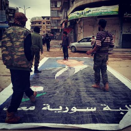 صورة تحرير أريحا والمعسكرات المحيطة بها ليست بالمهمة السهلة